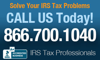 Solve Your Tax Problems Today!